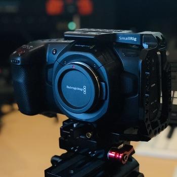 Rent Blackmagic Design Pocket 4K w/ Cage, 3x Batteries