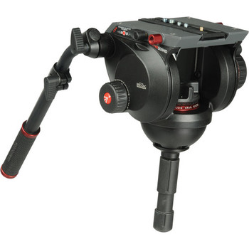 Rent Manfrotto 509HD 100mm Bowl Fluid Head w/ sticks