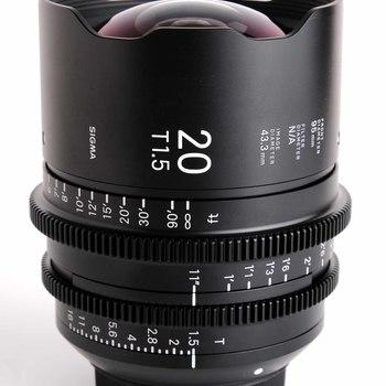 Rent Sigma FF High Speed Cine Prime 6 Lens Kit w/ Mattebox