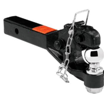 Rent 2in. Military Trailer Tow Hitch (Ball and Pintle Combo)