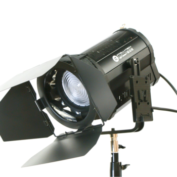 Rent Intellytech 165 Bi-Color Fresnel LED, w/ V Mount Plate, Wi-Fi