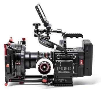 Rent RED Dragon 4.5K w/ Cine Lenses, Shoulder Rig