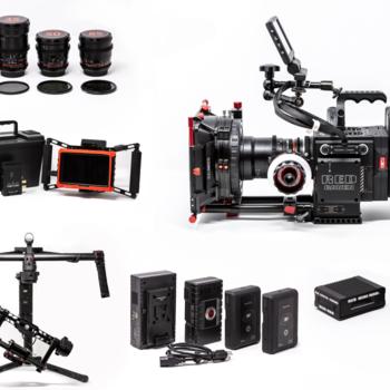 Rent Red Raven Dragon 4.5K + Ronin + Lenses +Wireless Monitor