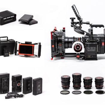 Rent Red Raven Dragon 4.5K + Lenses +Wireless Monitor