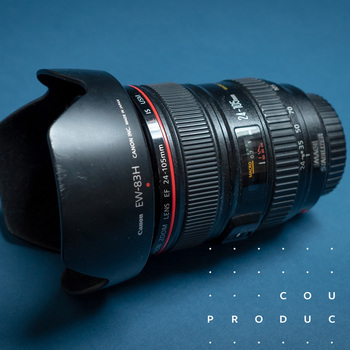 Rent Canon 24 - 105mm f4.0 is camera lens