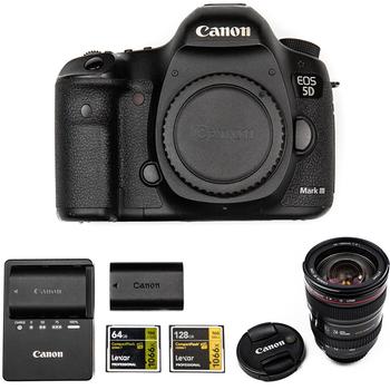 Rent Canon EOS 5D Mark III w/ Magic Lantern & 24-105mm Lens
