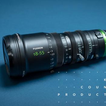 Rent Fujinon MK 18-55 t2.9 Cinema Zoom | Sony E Mount