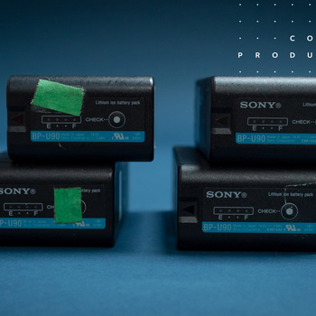 Rent Sony - BP-U90 Battery Kit. 4 Batteries