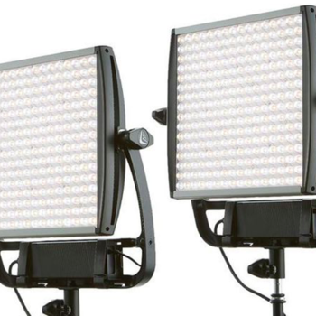 Rent Litepanels Astra 6x Bi-Color 2 Light Kit with Chimera