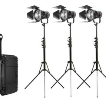 Rent Fiilex K305P 3-Light P360 Pro Plus Bi Color LED Kit