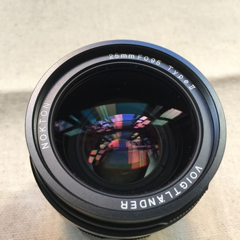 Rent Voigtlander 25mm f/0.95 Type II Lens - Micro Four Thirds w/ variable ND filter