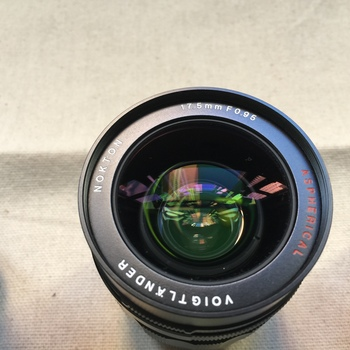 Rent Voigtlander 17.5mm f/0.95 Lens for Micro Four Thirds w/ variable nd filter