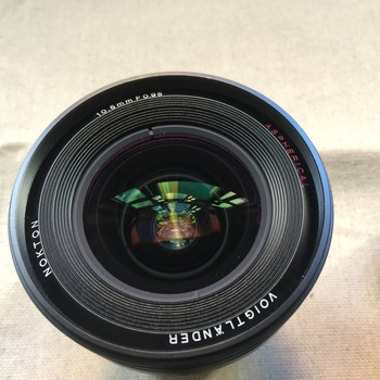 Rent Voigtlander Nokton 10.5mm f/0.95 Lens for Micro Four Thirds