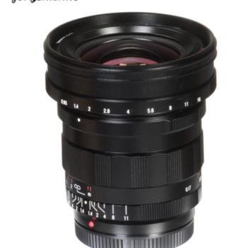 Rent Voigtlander Nokton 10.5mm f/0.95 Lens for Micro Four Thirds