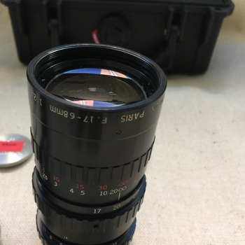 Rent ANGENIEUX ZOOM LENS 17-68MM F2.5 - C-MOUNT - MFT
