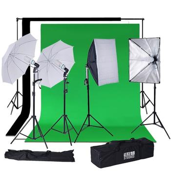 Rent Backdrop stand with backgrounds and lights