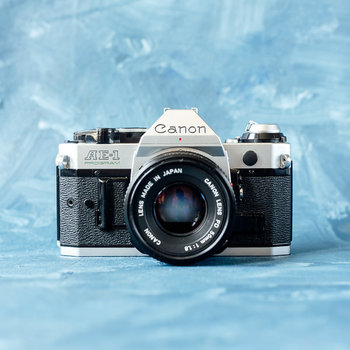 Rent Canon AE-1 Chrome Kit