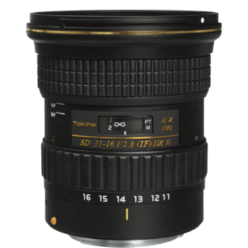 Rent Tokina AT-X 11-16mm f/2.8 116 Pro DX EF Mount