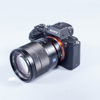 Rent A7R II + 24-70mm f4 Zoom Lens + 4 Batteries + 384 GB Storage