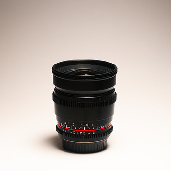 Rent Rokinon 16mm Cine Lens EF + Var ND