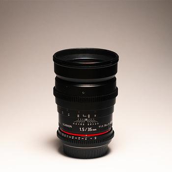 Rent Rokinon 35mm Cine Lens EF + Var ND