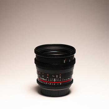 Rent Rokinon 50mm Cine Lens EF + Var ND