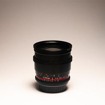 Rent Rokinon 85mm Cine Lens EF + Var ND