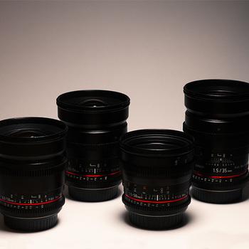 Rent Rokinon Cine Lens Set EF + Var ND + Pelican (16,24,35,50)