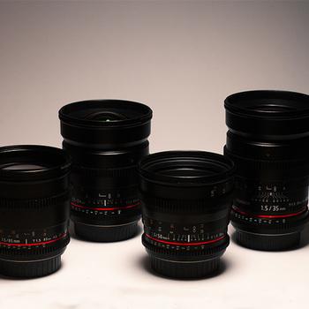 Rent Rokinon Cine Lens Set EF + Var ND + Pelican (24,35,50,85)