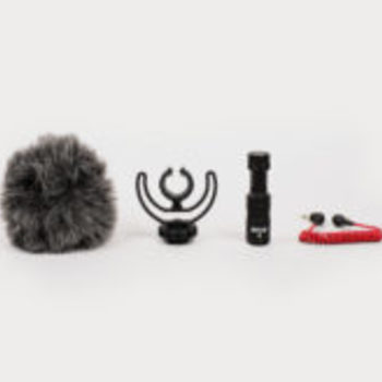 Rent Rode VideoMicro Compact On-Camera Microphone with Rycote Lyre Shock Mount