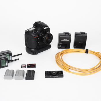 Rent NIKON D810 KIT - BATTERY GRIP, TETHER CABLE, 50MM, POCKETWIZARD