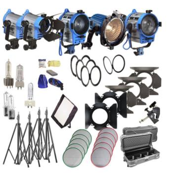 Rent Arri Five Light - Fresnel Kit