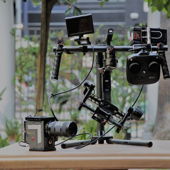 """Rent Red Scarlet X, 3 Bricks, 240 Mags, 5"""" Touch, Ronin, EZ Rig"""