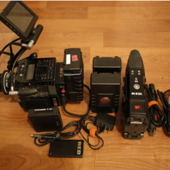 """Rent RED Scarlet MX 4K with 3x batts, 2x 128gb, 5"""" lcd & charger"""