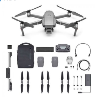 Rent DJI Mavic 2 - 4K Drone / 4 Batteries / Hub / Media / NDs