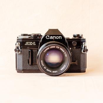 Rent Canon AE-1 Black Kit