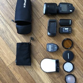 Rent Profoto A1 kit Canon & Sony Speedlite