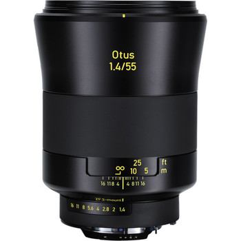 Rent Zeiss 55mm f/1.4 Otus Distagon T* Lens for Nikon F Mount