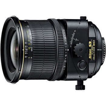 Rent Nikon PC-E NIKKOR 24mm f/3.5D ED Tilt-Shift Lens