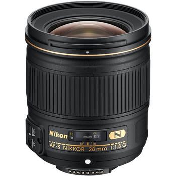 Rent Nikon AF-S NIKKOR 28mm f/1.8G Lens