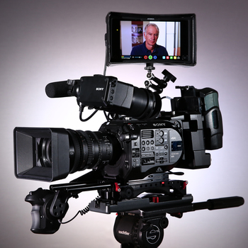 Rent FS7MII + I/O Unit, Lens, Tripod, Monitor, Base Plate, Cam-Mic, Batts, XQD Cards + Card Reader