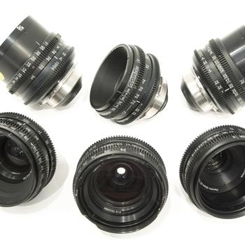 Rent Vintage Cooke Speed Panchro T2.2 Cinema Lens Set