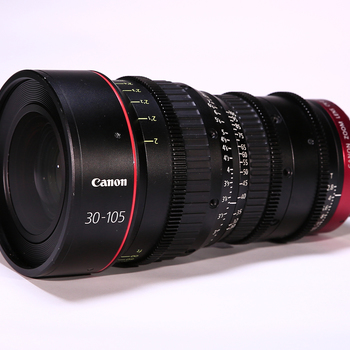 Rent Canon 30-105mm T2.8 PL Cinema Zoom w/Hood, Lens Support & 15mm Rods