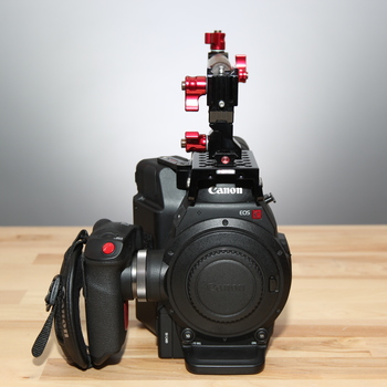 Rent Canon C300  Mark II Body Only + Top Handle,  Batteries, Cards & Case.