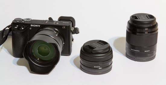 Sony alpha a6500 mirrorless digital camera ki