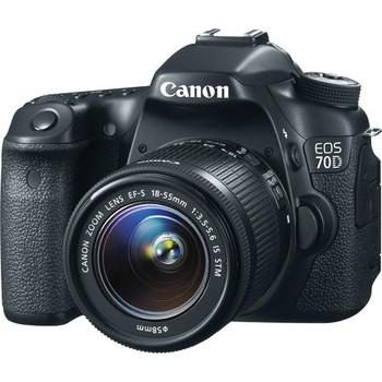 Rent Canon 70D w/ 18-35mm & 50mm lens