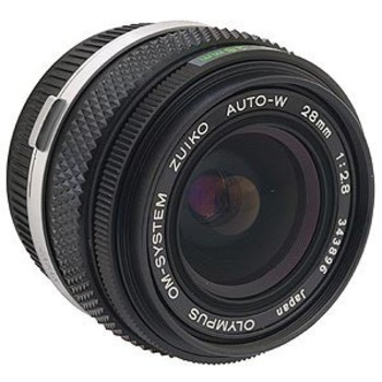 Rent Olympus 28mm f/2.8 Manual lens with Adapter for Canon EF