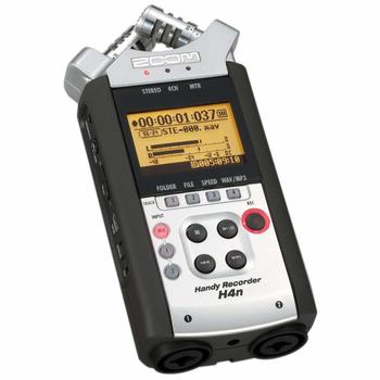 Rent Zoom H4n Handy Mobile 4-Track Recorder