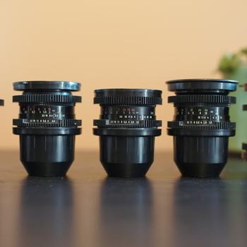 Rent Carl Zeiss Jena cinemoded MC DDR prime lenses