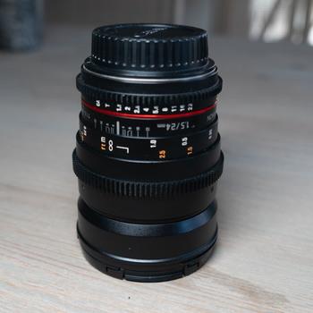 Rent Rokinon Cine DS 24mm EF mount